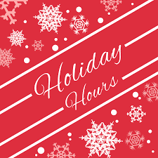 Caon's Holiday Hours